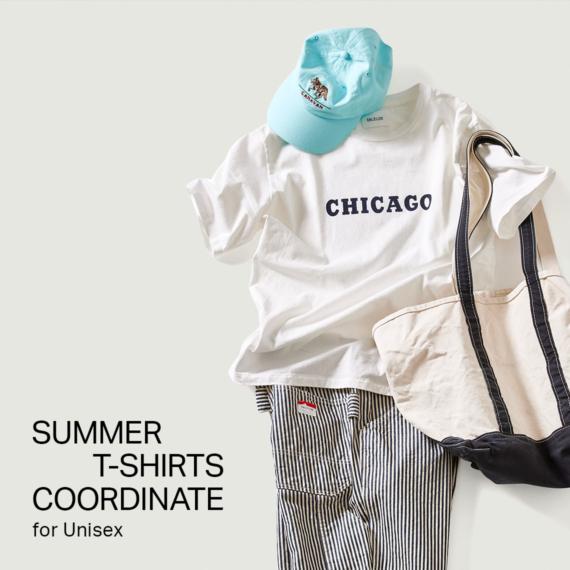 SUMMER T-SHIRTS COORDINATE